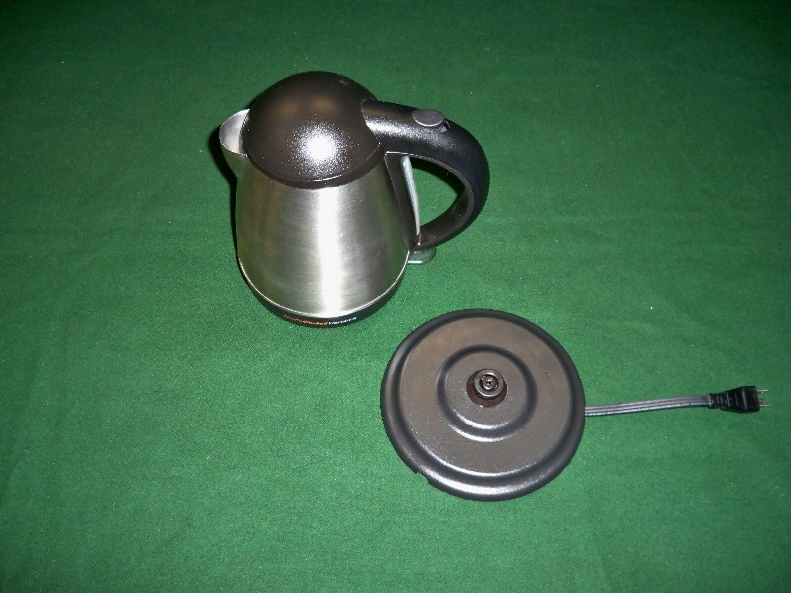 MINT CONDITION Chef's Choice Cordless Electric Tea Hot Water  Kettle
