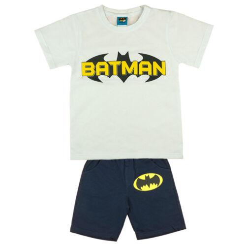 T-Shirt KURZARM mit Short Jungen Batman SOMMER-Set zweiteilig