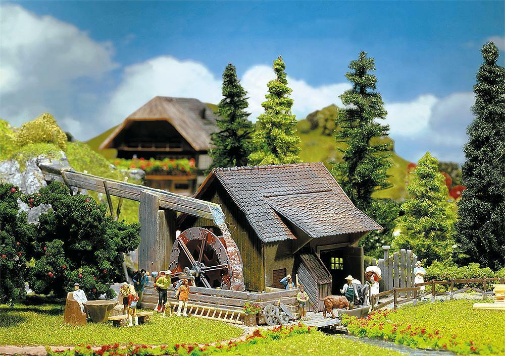 Faller 130225 H0 - Wassermühle mit Elektropumpe NEU & OvP  | Zart