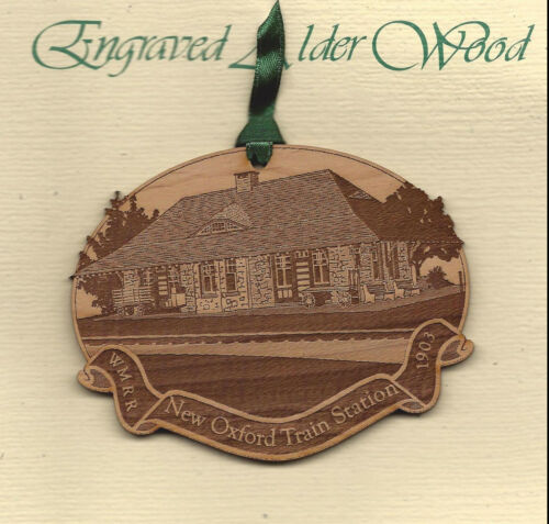 Western Maryland Railroad Ornament New Oxford Train Station