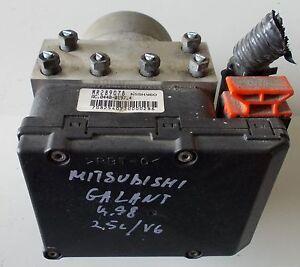 Mitsubishi-Galant-ABS-Hydraulikblock-Bj-1998-2-5l-V6-120kW-MR289078