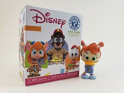 Full Box Game Stop FUNKO Mystery Minis Disney Afternoons Figures