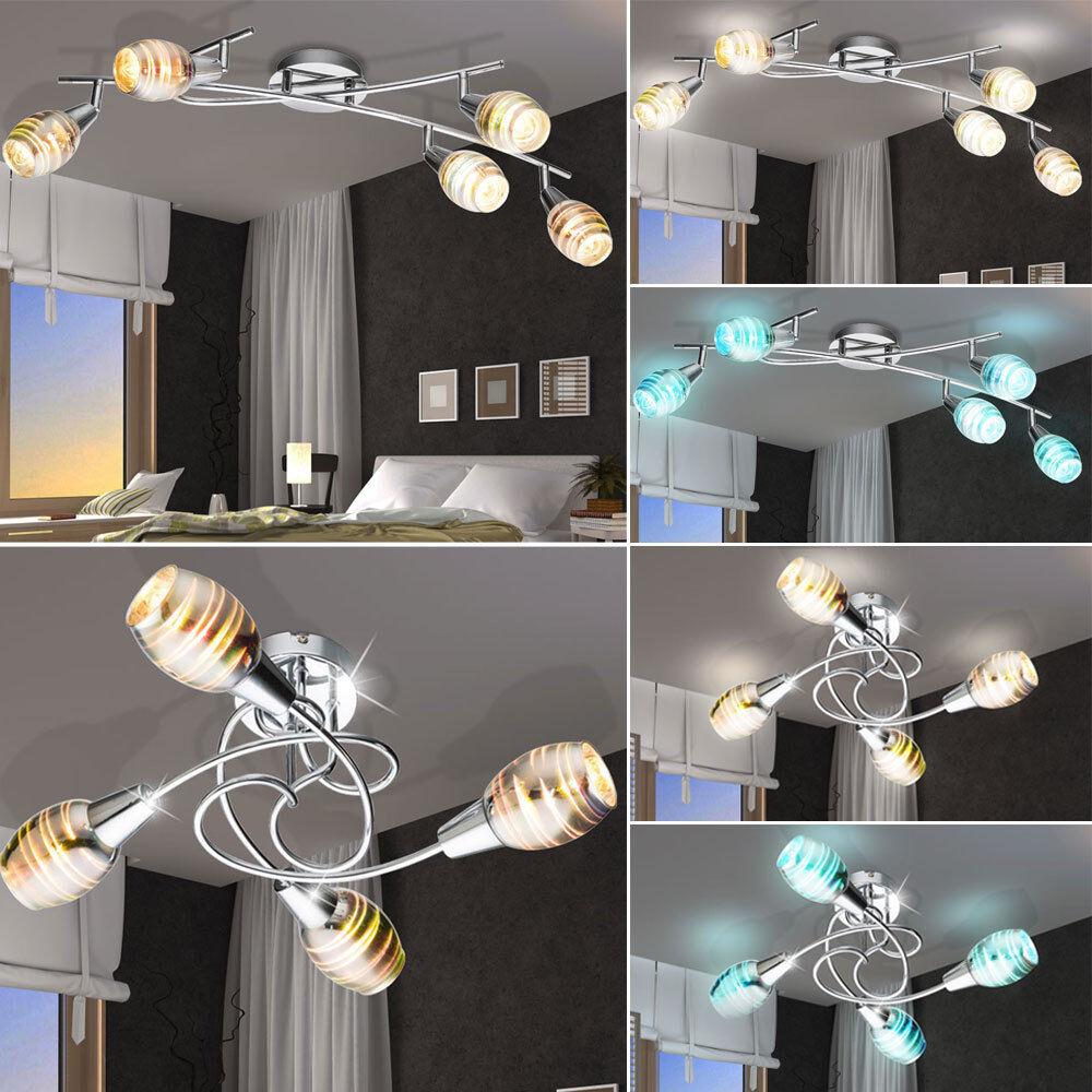 Plafonnier LED à LED dimmable Plafonnier RGB REMOTE CONTROL Plafonnier dimmable à lumière effet 3D 495b20