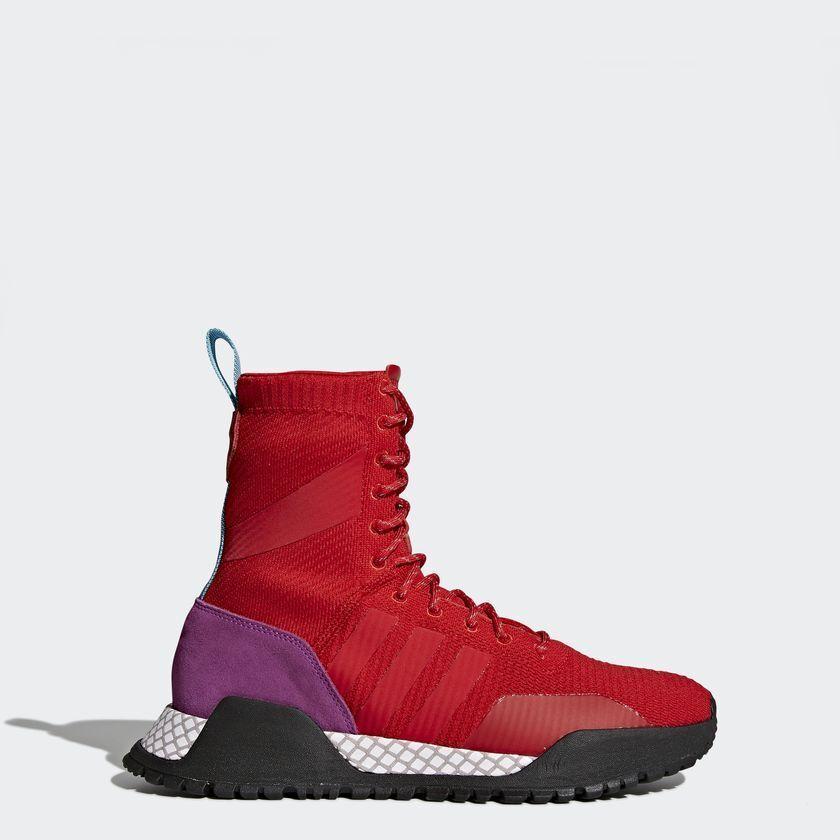 Adidas Originals Uomo AF 1.3 PRIMEKNIT WINTER PACK BOOTS Shoes Scarlet BZ0611 b