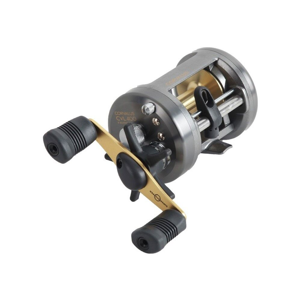 Shimano Corvalus 400 Round Baitcasting Fishing Reel Right Hand, CVL400
