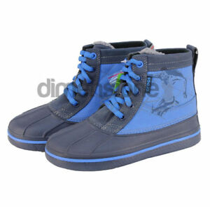 outlet store 819a7 ee8a7 Details about STIVALI BAMBINO CROCS TG 33 SCARPE STIVALETTI J2 ALLCAST  LEATHER DUCK BOOT 14473