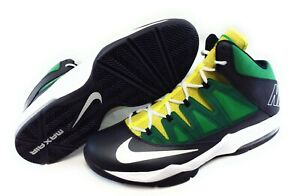 Details about Mens Nike Air Max Stutter Step 599565 013 Green 2013 Basketball Sneakers Shoes