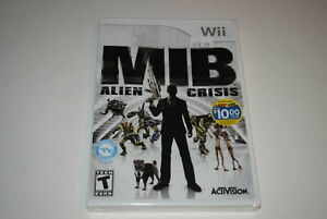 Men-In-Black-Alien-Crisis-Nintendo-Wii-Video-Game-New-Sealed