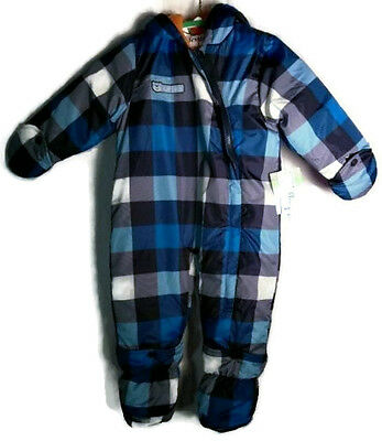 Carters Infant Boy's Baby Snowsuit - 18 Months for Ski, Winter Play - MRSP 65.00