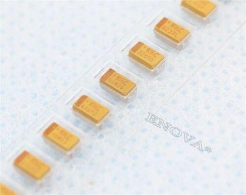 20 Stücke 1206 Smd Tantalkondensator 16 V 10Uf 106 10/% 3216 A-Typ Ic Neu rl