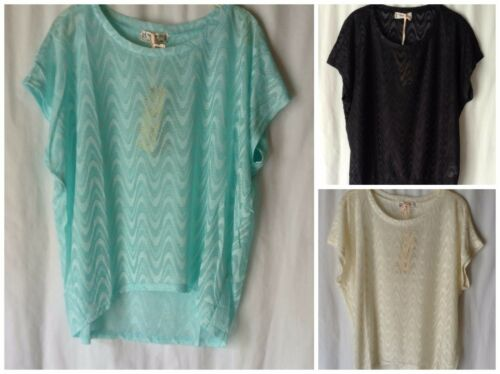 NEW LADIES SIZES 12-18 PATTERNED SHORT BATWING SLEEVE OVERSIZED LIGHTWEIGHT TOP