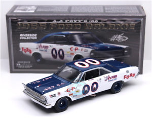 1965 A.J. FOYT FORD GALAXIE  VEL'S FORD 1 24 UNIVERSITY RACING FREE SHIP