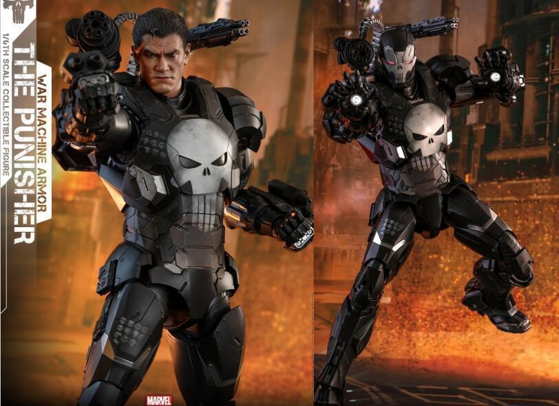 Hot Toys VGM33D28 VGM33D28 VGM33D28 1 6 Marvel futuro luchar contra el Castigador Figura de armadura de Máquina de Guerra  despacho de tienda