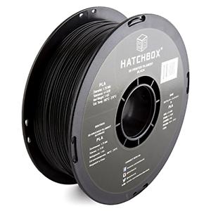 HATCHBOX 3D PLA-1KG1.75-BLK PLA 3D Printer Filament Dimensional Accuracy //