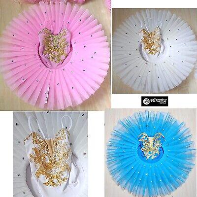 Sistematico Vestito Tutù Saggio Danza Bambina Donna Woman Girl Ballet Tutu Dress Danc169 Nuove Varietà Sono Introdotte Una Dopo L'Altra
