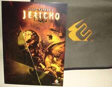 Codemasters Clive Barkers Jericho Juego Muy Raro! paquete de vista previa de prensa Kit de medios
