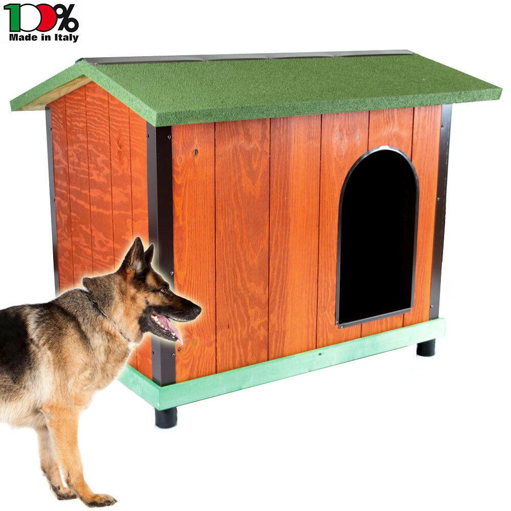 da non perdere! Cuccia da esterno in legno coibentato Comfort mis 3 + + + porticina. x cani pastore  fantastica qualità