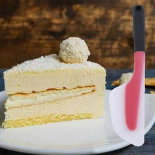 Cake Silicone Scraper Spatula Non-Stick Heat Resistant Rubber Butter Bakeware S
