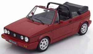 Norev-1992-Volkswagen-Golf-1-Cabriolet-Classic-Line-Rojo-1-18-Escala-Le-de-1000