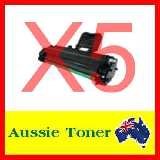 5x Xerox 3124 Toner for Xerox Phaser 3124, Phaser 3125