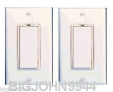 2 PACK X10 WS13A 20 Amp Non-Dim Switches For Fluorescent/Halogen/Appliance Loads