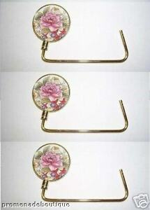Image Is Loading 3 Handbag Hangers Purse Holder Caddy Hook