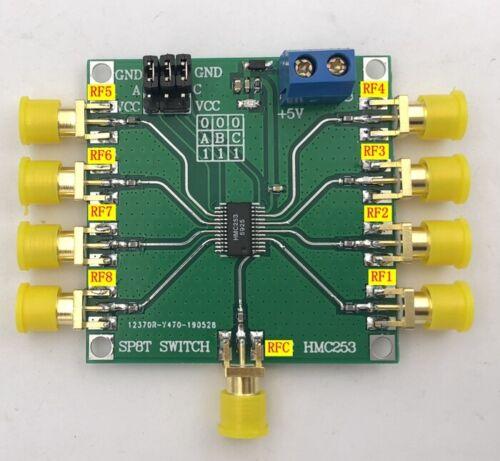 HMC253 DC-2.5 GHz RF Single-Pole Eight-Throw Switch Non-Reflective SP8T Switch
