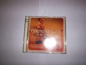 COUNTRY-LOVE-2-CD-SET-PATSY-CLINE-SHANIA-TWAIN-WILLIE-NELSON-EVA-CASSIDY
