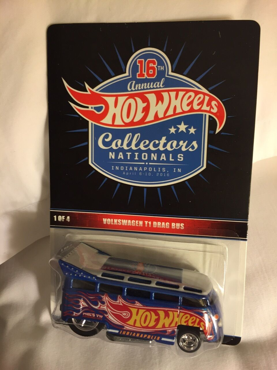 2016 Hot Wheels 16th Nationals Convention Volkswagen T1 VW Drag Bus Indy