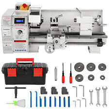 Mini Metal Lathe 8x16 Metalworking Machine Variable Speed 2250 Rpm 11kw