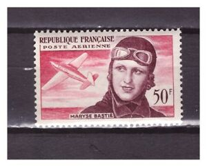s27527-FRANCE-1955-MNH-Maryse-Bastie-1v