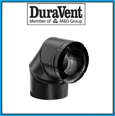 Black Simpson Dura-Vent 46DVA-E90B