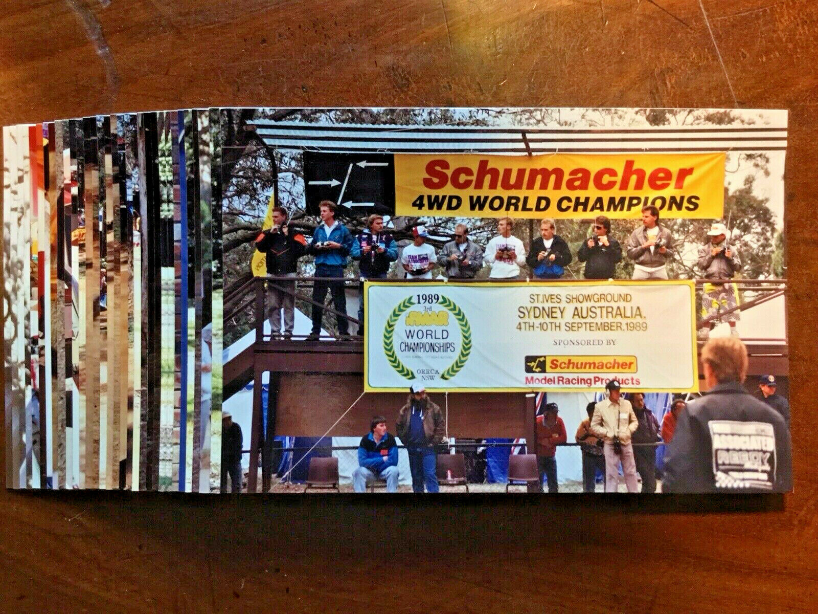 Vintage Gene Husting Photos from1989 IFMAR WORLD CHAMPIONSHIPS 31 Photos 4  X 6