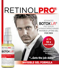 BOTO-X LIFT SERUM FOR MEN UP TO 10 x STRENGTH OF RETINOL INVISIBLE LIFTING GEL
