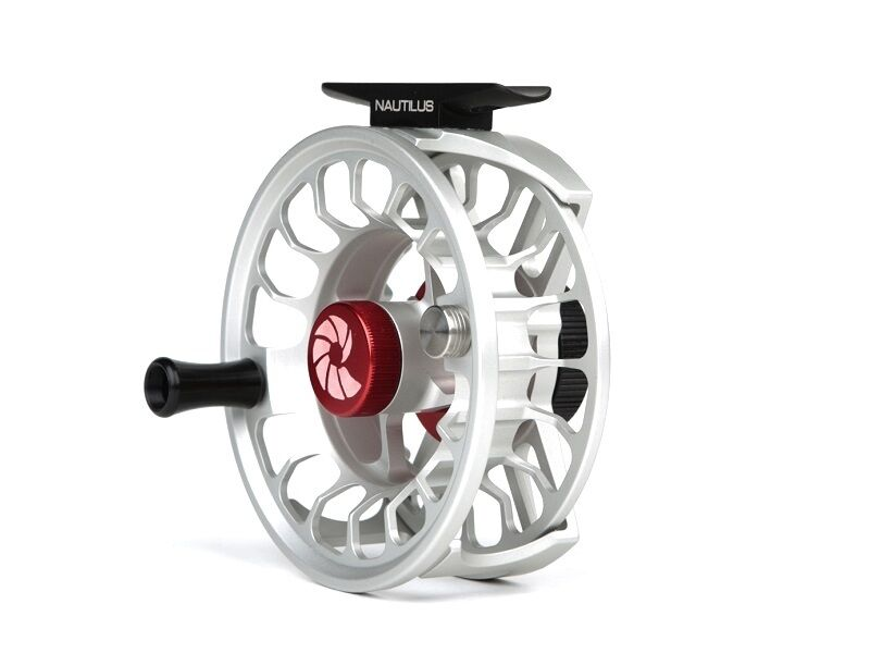 Nautilus X Series Fly Reels - Size XM (4 5) - color Brushed Titanium - New