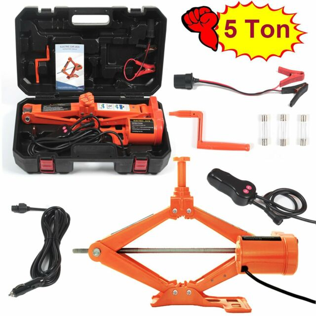 Floor Jack With Case 5ton Car Jacks Kit Electric Lift