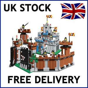 Castle-Knights-Kingdom-creer-l-039-education-House-Building-Bricks-Blocs-Compatible