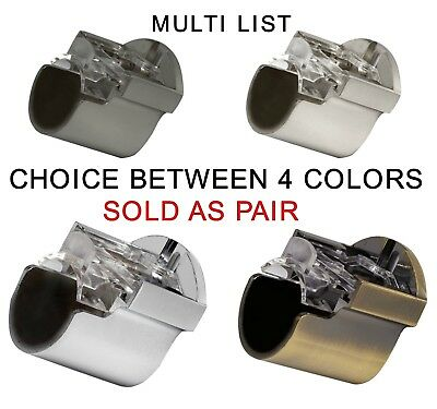 Sold In Pairs Speedy Poles Apart 28mm Recess Support Bracket FREE P/&P!!!