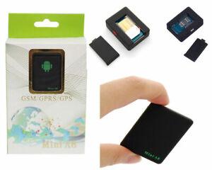 LOCALIZZATORE SATELLITARE GPS GSM ANTIFURTO SOS TRACKER MINI A8 ASCOLTO VOCALE