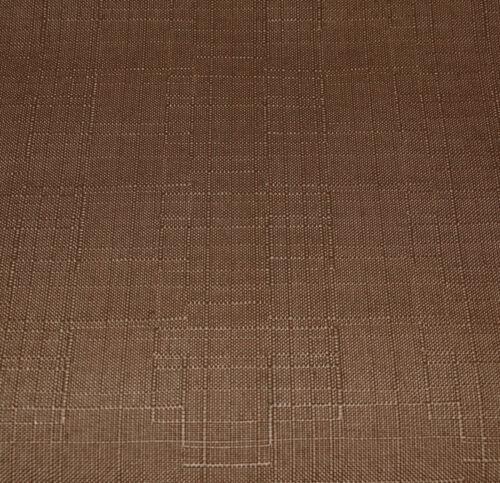 Qh20n Light Brown Linen Cotton Blend Round Cushion Cover//Pillow Case Custom Size