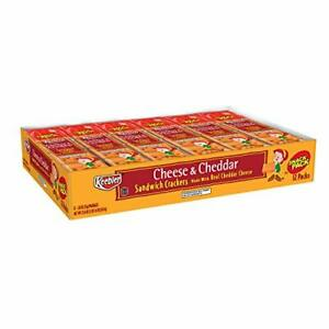 Keebler-Cheese-amp-Cheddar-Sandwich-Crackers-Single-Serve-1-8-oz-Packages-12-Count
