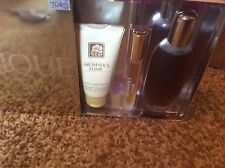 Clinique Aromatics Elixir-3 pc. Gift set-perfume spray-3.4 oz, body smoother-2.5
