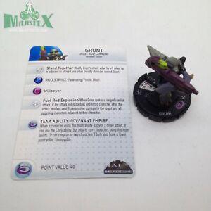 Fuel Rod Cannon 10th Anniversary Halo Heroclix #015 Grunt