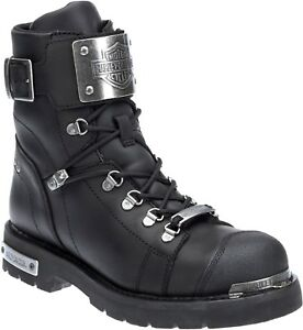 NEW-HARLEY-DAVIDSON-MEN-039-S-MOTORCYCLE-BOOTS-D96125-SEWELL