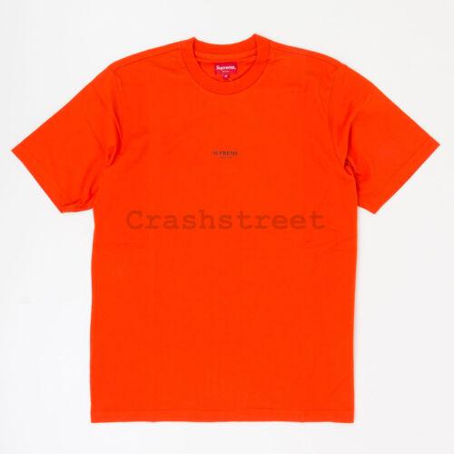 Supreme FW18 First /& Best Tee box camp logo sweatshirt hooded Orange