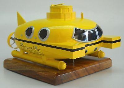 Zissou Mini-Sub Submarine Deep Search Desk Wood Model Small New   eBay