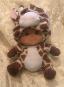 2011-Garanimals-Baby-Doll-in-Giraffe-Costume-Plush-Collectible-Vinyl-Blue-Eye-8