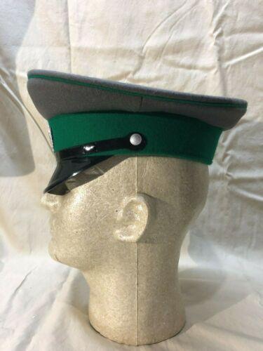 Vintage East German Border Guard Enlisted Service Hat Medium Size DDR 56