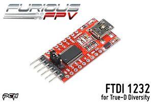 FURIOUS FPV FTDI 1232 Power Distribution Board for True-D Diversity