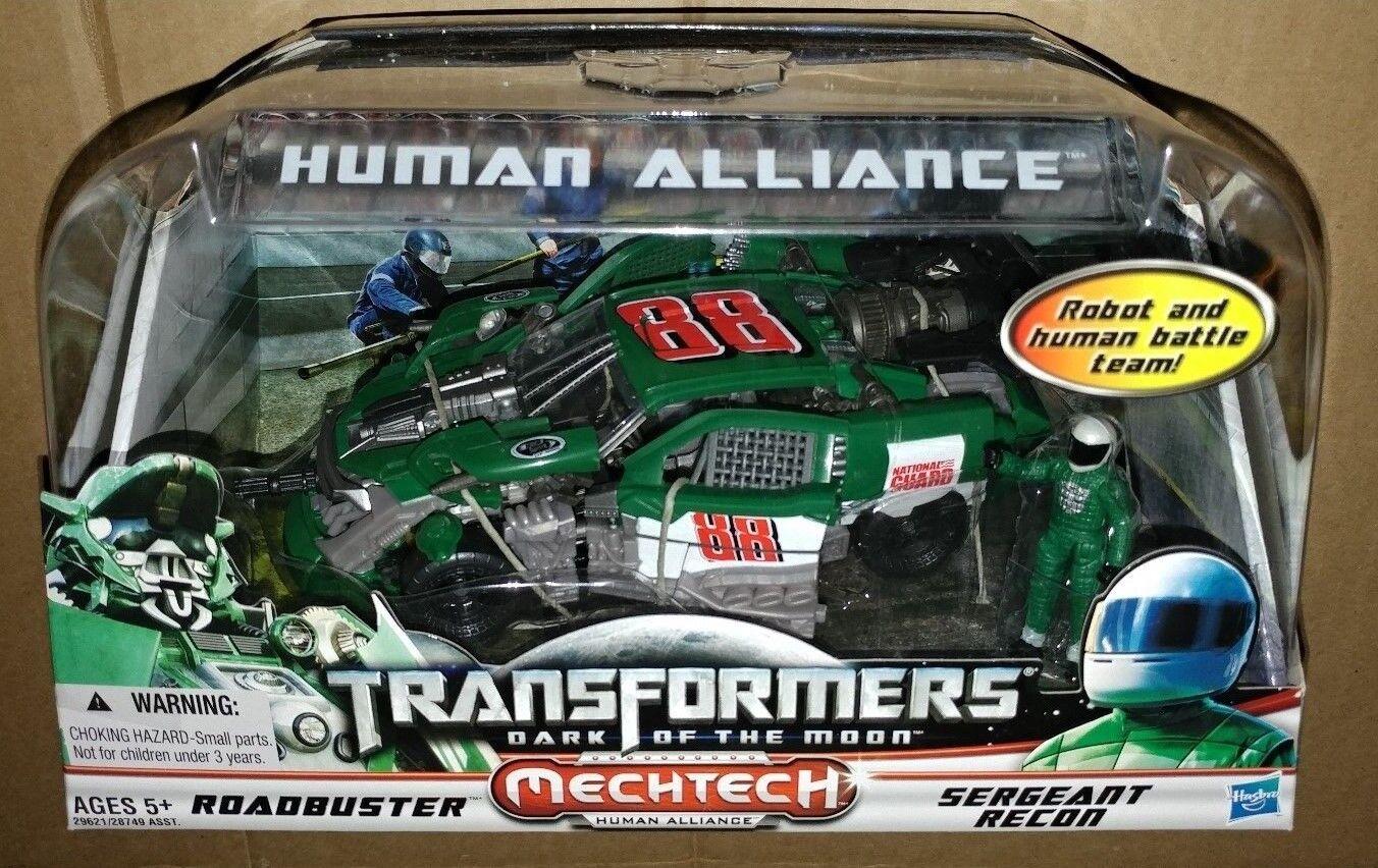 Transformers Dotm Human Alliance Roadbuster Nascar Impala Dale 88 Recon grúa